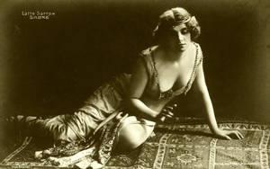 Vintage actress as Salome 001 by MementoMori-stock