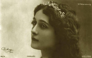Vintage woman Lina Cavalieri 003 by MementoMori-stock