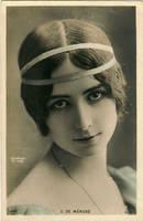 vintage woman Cleo de Merode003 by MementoMori-stock