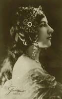 Vintage singer Geraldine Farrar 002 by MementoMori-stock