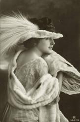 Vintage beauty in Profile 005 by MementoMori-stock