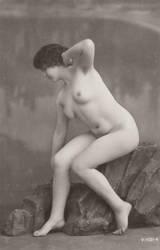 Vintage nude flapper 002 by MementoMori-stock