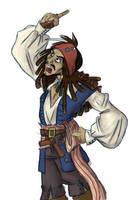 Im Jack effing Sparrow by spaztic-demon