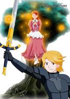 Yamato x Sora by mirrowdothack