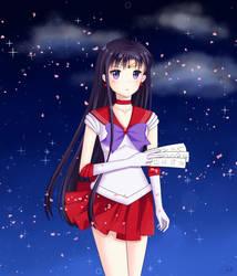 Rei Hino - Sailor Moon by Yuuki-Misaki01