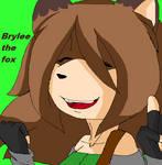 Brylee the Fox by Crystalthehedgehog9