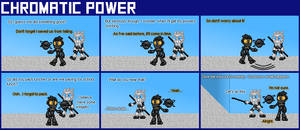 Chromatic Power #006: A Walk in the Halls by Color17
