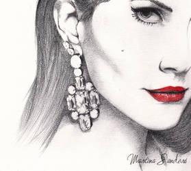 Lana Del Rey by Leadto-Light