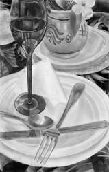 Table Setting by kiwicha