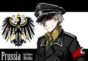 APH - Prussia in Uniform by KaruKaruKira