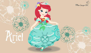 Disney Princess Young ~ Ariel by miss-lollyx-33