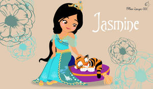 Disney Princess Young ~ Jasmine by miss-lollyx-33