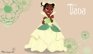 Disney Princess Young ~ Tiana by miss-lollyx-33