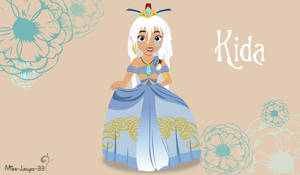 Disney Princess Young ~ Kida by miss-lollyx-33