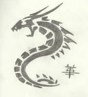 Dragon Pendant by Kenisu-of-Dragons