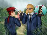 Gossping by Kenisu-of-Dragons