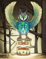Spirit Guide by Kenisu-of-Dragons