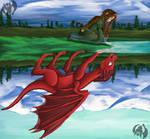 Dragon Queen by Kenisu-of-Dragons