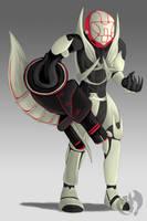 Agent Maine(The Meta)-RWBY Style by Kenisu-of-Dragons