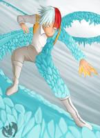 Todoroki Shoto by Kenisu-of-Dragons
