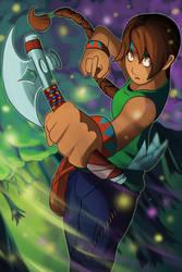 Dynamic Nina by Kenisu-of-Dragons