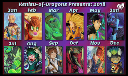 Kenisu-of-Dragons 2018 by Kenisu-of-Dragons