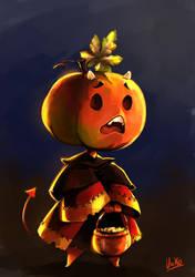 Little pumpkin by uriko33