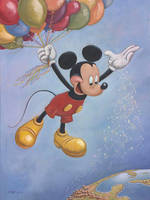Mickey Mouse 90th Anniversary Portrait! by foxlover35