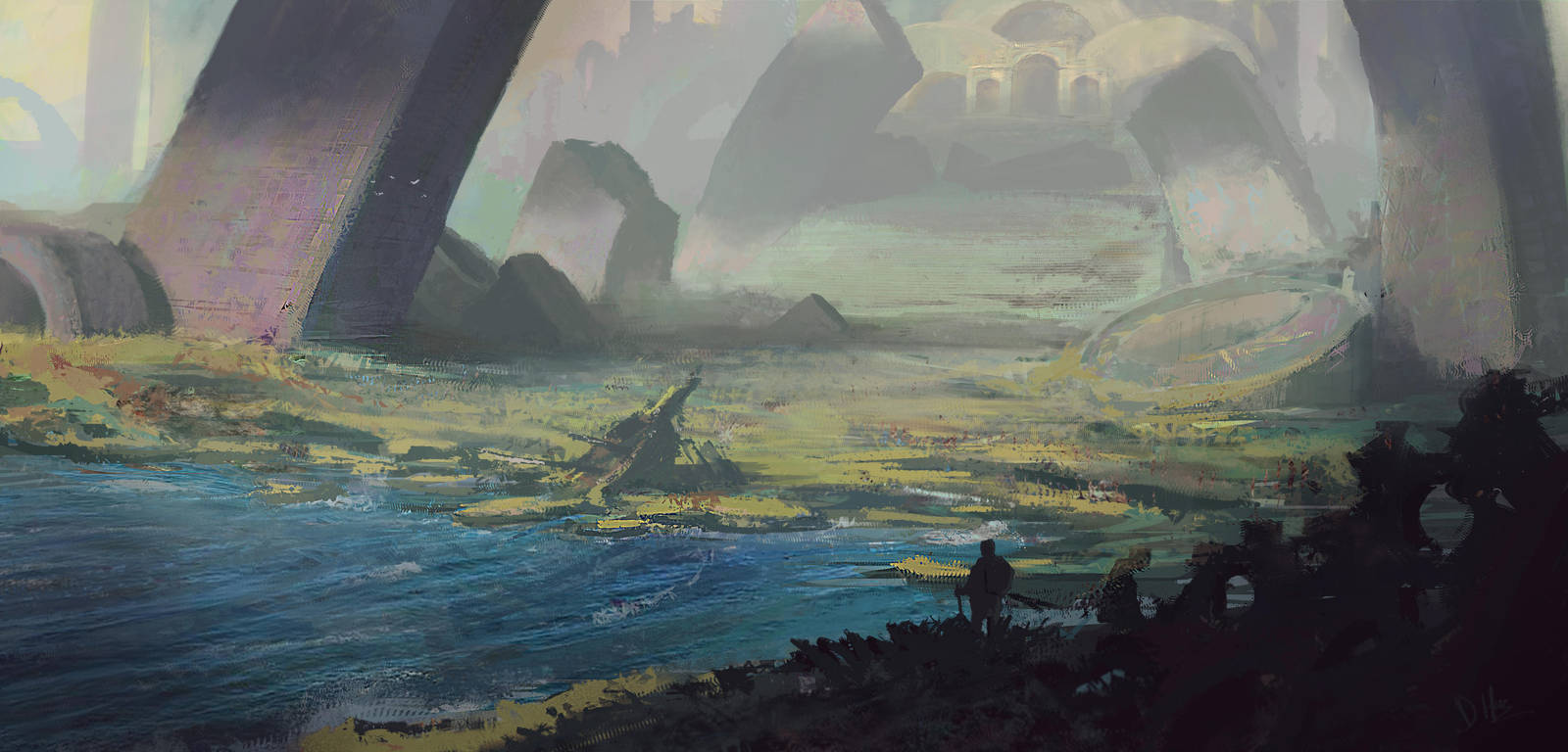 Lost city of Arah by XGhastX