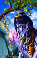 Lord Shiva by DyxKoyota