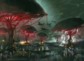 Swamps by Katriix
