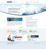 WSPIN - webdesign refreshed by Nexert