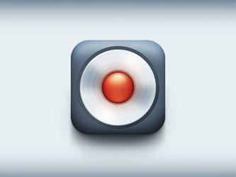 Record iOS icon by Nexert