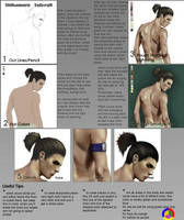 shikamaru Photoshop tutorial by MaayanCohen