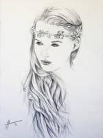 Serenity - Sketch by justcallmemike