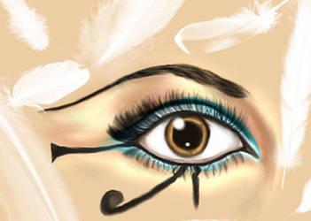 Eye of Isis by adriannauk