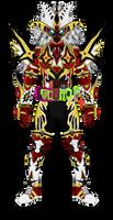 Kamen Rider Ansatsu - Mugen Omega by MarcosPsychic