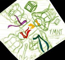 TMNT - Relaxing - WIP by nichan