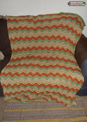 Crochet Blanket 1 out of 3 - For Jedinightwing by nichan