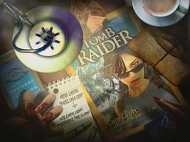 Tomb Raider: Natla's Desk by KissBite