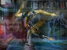 Hazards In The Sinking Tanker by KissBite