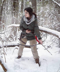Lara Croft: my bow is my friend. by Sara-Croft