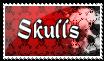 -Skulls- by whiterecycled-punk