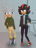 Shadow and Silver (can't think of a better title) by edo67