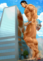 crush the building by codelyoko12000