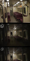 Flooded subway - Murder WIP by etwoo