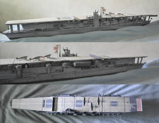 IJN Carrier Akagi by louie1105