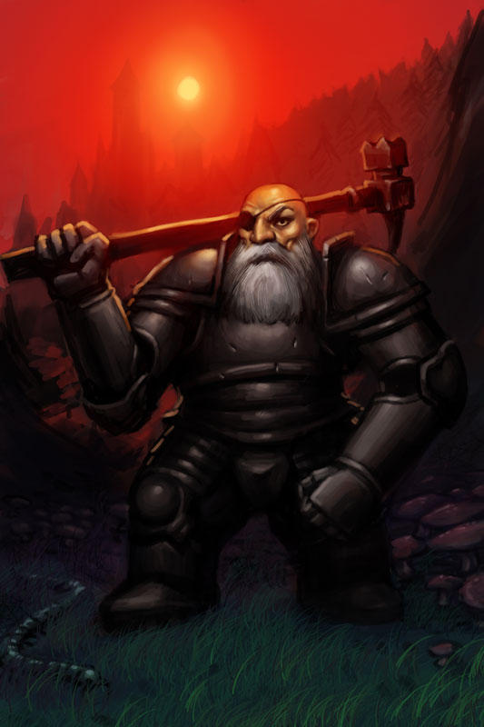 dwarf warrior 2 by puppeli