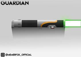Lightsaber - Guardian FINAL INSTA by Memerfox