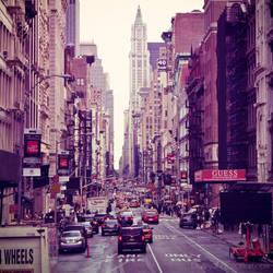 New York - Broadway ave by DarkSaiF